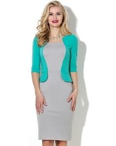 Платье-футляр из трикотажа джерси Donna Saggia DSP-51-88t