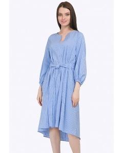 Платье свободного силуэта с подолом разной длины Emka PL772/capella