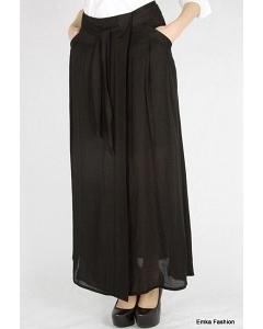 Длинная черная юбка Emka Fashion 450-poletta
