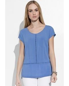 Синяя женская блузка Sunwear I17-2-53