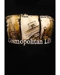 Клубная женская футболка Cosmopolitan Life
