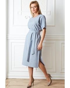 Синее платье TopDesign Premium PA20 08