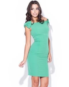 Зеленое платье Figl K028
