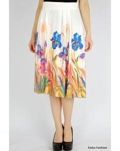 Летняя юбка Emka Fashion 486-olimpiada