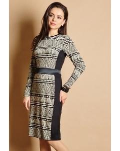 Стильное платье TopDesign Premium PB5 23