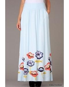 Длинная летняя юбка Emka Fashion 309-klarisa