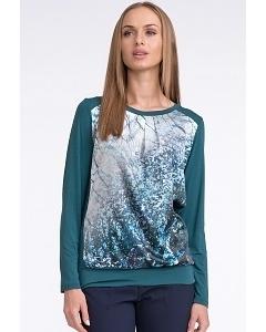 Бирюзовая блузка Sunwear U52