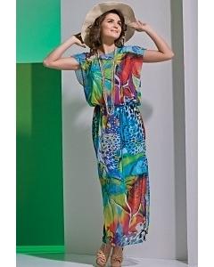 Длинное легкое платье TopDesign A4 096