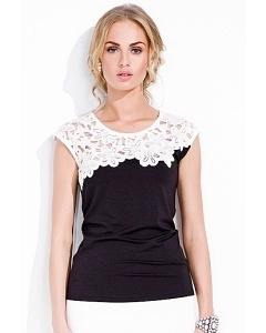 Блузка с кружевом Zaps Anabel