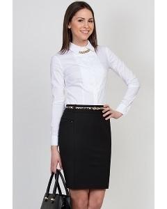 Чёрная юбка Emka Fashion 597-almaza
