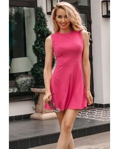 Короткое летнее платье из трикотажа Donna Saggia DSP-339-58t