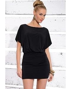 Черное короткое платье Zaps Samanta