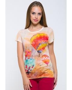 Женская футболка с рисунком Воздушные шары Issi 171113