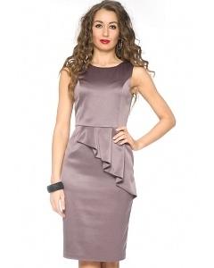 Атласное платье Donna Saggia DSP-79-36