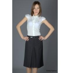 Универсальная темно-серая юбка