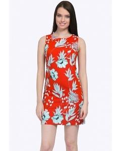 Короткое платье без рукавов прямого силуэта Emka PL492/marias