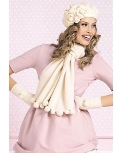 Комплект (шапка + шарф + перчатки) Willi  Savanna