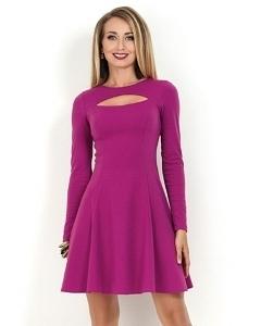 Платье цвета фуксия Donna Saggia DSP-160-38t