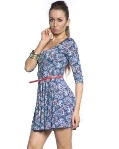 Короткое платье из трикотажа | DSP-85-55t