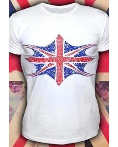 Клубная мужская футболка Флажок