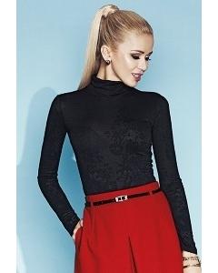 Чёрная полупрозрачная блузка Zaps Sofie
