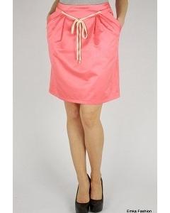 Юбка яркого цвета Emka Fashion 449-romana