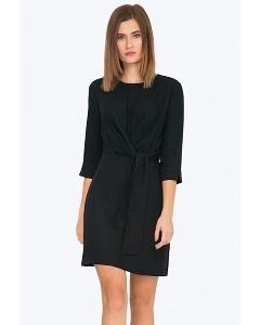 Маленькое черное платье в стиле Коко Шанель Emka PL737/egine