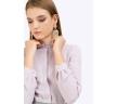 Блузка с оборкой по горловине Emka B2282/randi