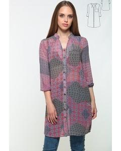 Платье-рубашка из шифона Bravissimo 162563