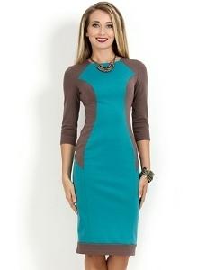 Красивое платье Donna Saggia DSP-168-14t