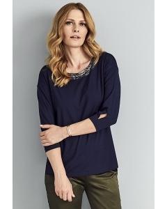 Тёмно-синяя блузка Sunwear A34-4-30