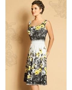 Летнее трикотажное платье TopDesign Premium PA5 74