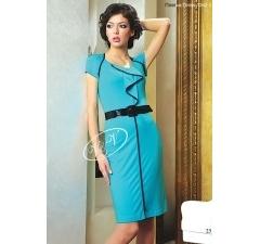Недорогое голубое платье V&V