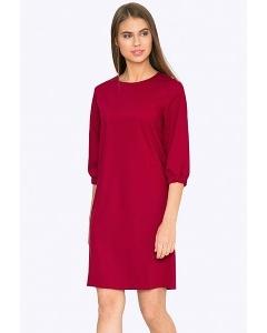 Красное платье Emka PL687/barberry