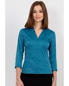 Бирюзовая блузка Emka Fashion b 2120/fern