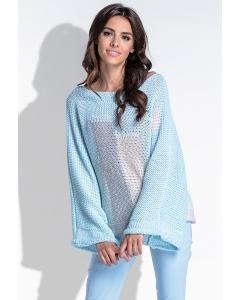 Модный свитер оверсайз Fobya F431