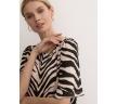 Яркое платье А-силуэта Emka PL1137/zebr