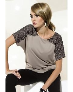 Бежевая блузка Zaps Sue