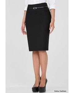 Чёрная юбка-карандаш Emka fashion 492-brianna