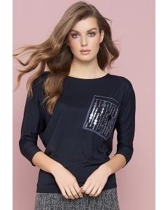 Блузка чёрного цвета Zaps Vera