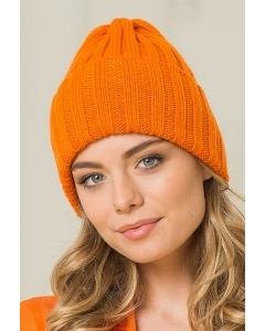 Женская шапка абрикосового цвета Landre Берлин