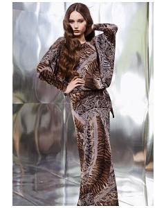 Длинное платье TopDesign Premium PB3 06