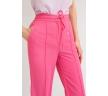 Широкие брюки ярко-розового цвета Emka D139/cristall