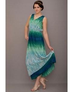 Длинное летнее платье Golub   П217-1889