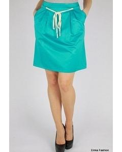 Бирюзовая юбка Emka Fashion 449-saturn