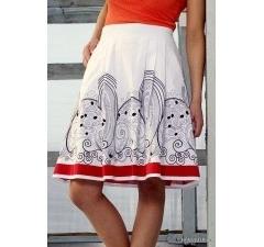 Летняя юбка Emka Fashion