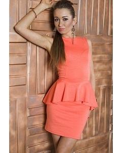 Платье Donna Saggia персикового цвета | DSP-93-31t