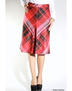Красная юбка в клетку   351-lidia