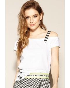 Белая молодежная блуза Zaps Farrah