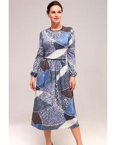 Трикотажное платье TopDesign B7 139
